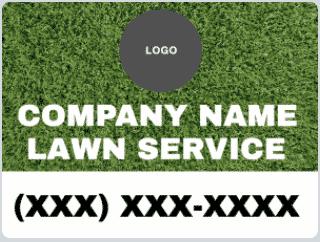 Lawn Service Yard Signs - 18x24